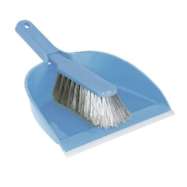 Arts. limpieza Habitex. Pala y escobilla azul