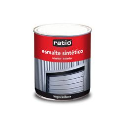 Esmalte sintetico brillante 750 ml color negro