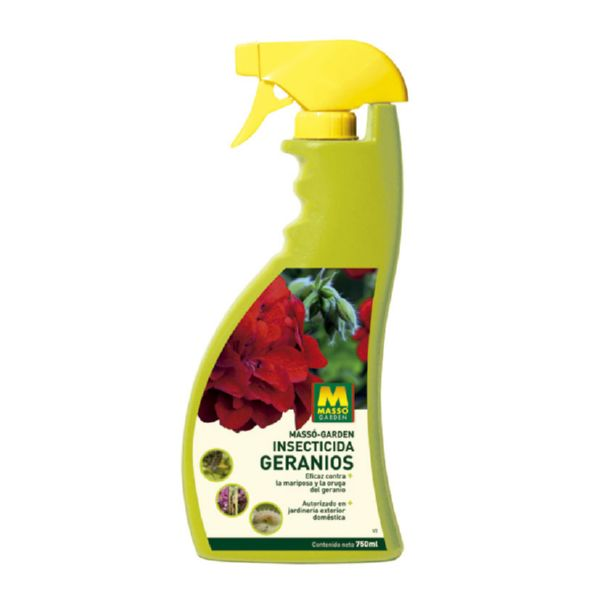 Pistola insecticida Geranios. 750 ml.