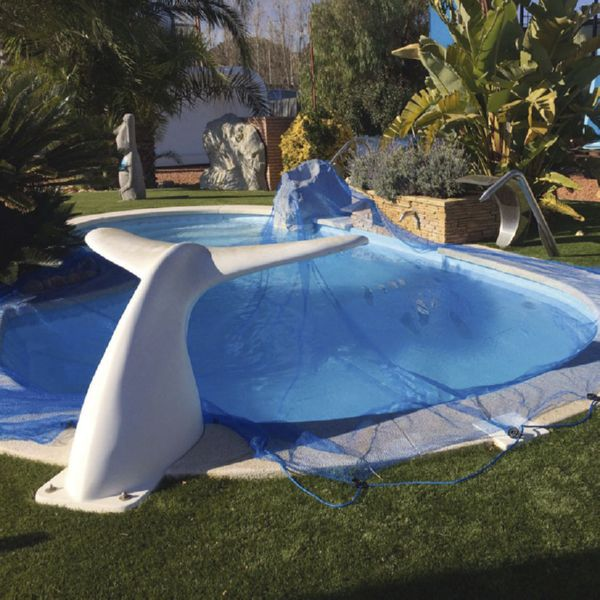 Protector  LEAF POOL COVER 6x6 m